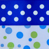Royal Dot/Blue-Green Dot