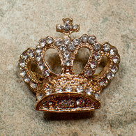 Crown Brooch, Gold