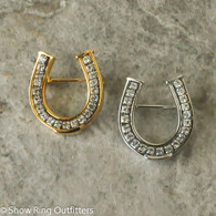 Small Horseshoe Brooch Pin
