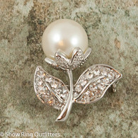 Pearl Flower Bud Brooch Pin