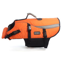 "Outward Hound Life Jacket- ""Designer"" Orange"
