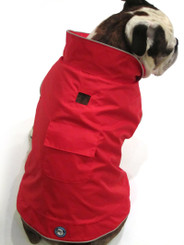 "Red ""Hot"" Raincoat"
