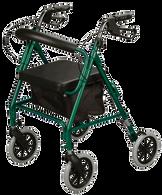 Rollator, Soft Seat, Green EA 1
