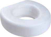 "Raised Toilet Seat, 5"" EA 1"