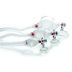 Cardinal Health™ Ambu® SPUR® II Adult Resuscitator with Medium Adult Mask and PEEP Valve, 7 ft. Tubing, SEBS (55A520211001)