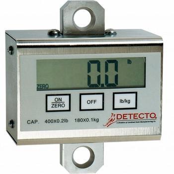 Detecto Digital Patient Lift Scale (PL600 - 600 lb / 270 kg) with Hoyer Connecting Link (PL600L)