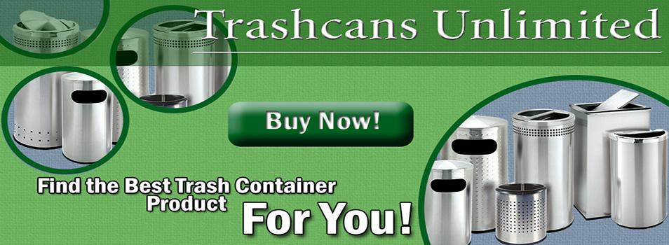 Buy Outdoor Trash Cans