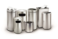 Precision Series Steel Indoor Trash Cans