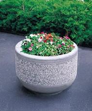 Outdoor Round Concrete Planter TF4095
