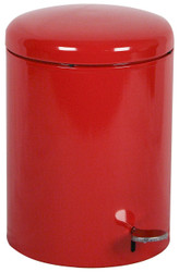 4 Gallon Step Can UL Listed OSHA Compliant Fire Safe Steel Liner Red