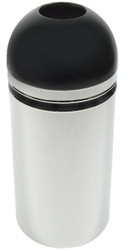Monarch 15 Gallon Open Top Waste Receptacle 415DT44 Chrome