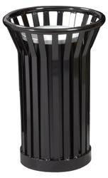 Witt Industries Wydman WC2000 Outdoor Cigarette Ash Waste Receptacle Black
