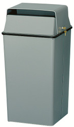 36 Gallon Metal Locking Original Series 008 Document Container Slate Gray