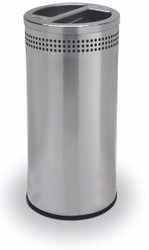20 Gallon Stainless Steel Recycling Trash Can Garbage Can