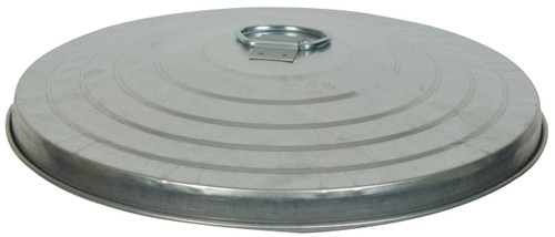Witt Heavy Duty 32 Gallon Galvanized Trash Can Lid Case of 3