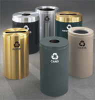 Glaro Metal Recycling Trash Can