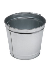 12 Quart Galvanized Steel Utility Pail for Smokers Outpost