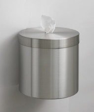 Glaro Wall Mounted Sanitizing Wipe Dispenser Satin Aluminum