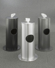 Glaro Floor Standing Sanitizing Wipe Dispenser 3 Designer Colors