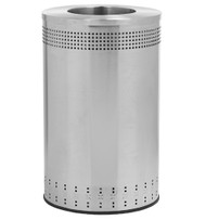 45 Gallon Precision Series Imprinted Stainless Steel Trash Can