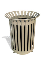 36 Gallon Ultra Site Lexington Outdoor Trash Receptacle LX36 (19 Colors)