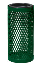 3 Gallon Ultra Site Metal Mesh Thermoplastic Outdoor Ashtray