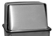 15 x 15 Metal Stainless Steel Push Top LID ONLY for 21HTSS