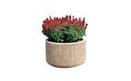 30 x 18 Outdoor Round Concrete Planter TF4030