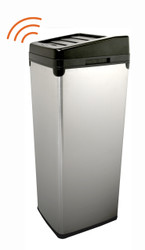 Touchless Trash Can 14 Gallon Stainless Steel SX