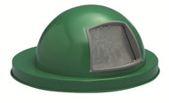 Witt Painted Galvanized Dome Lid for 55 Gallon Drum Green