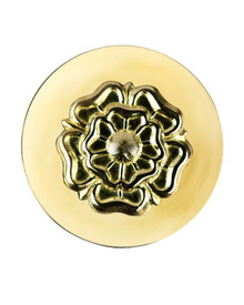 Fancy Centre Rosette #25, Brass