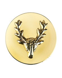 Fancy Centre Rosette, Stag Head