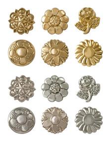 Flower design rein tips