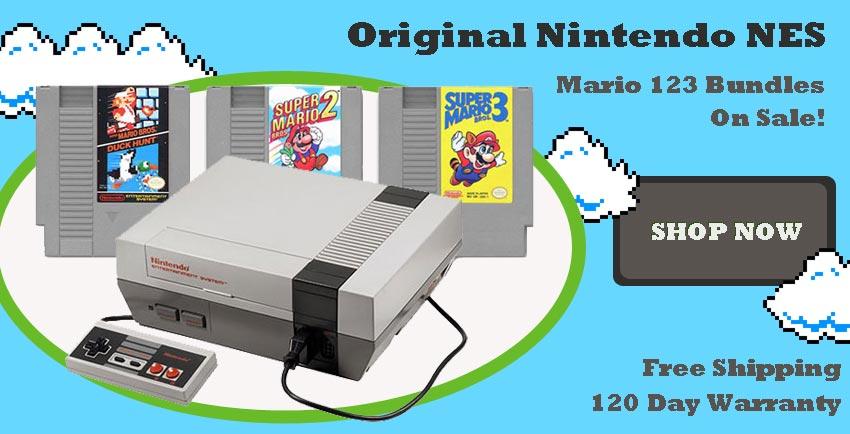 Original Nintendo NES Systems For Sale