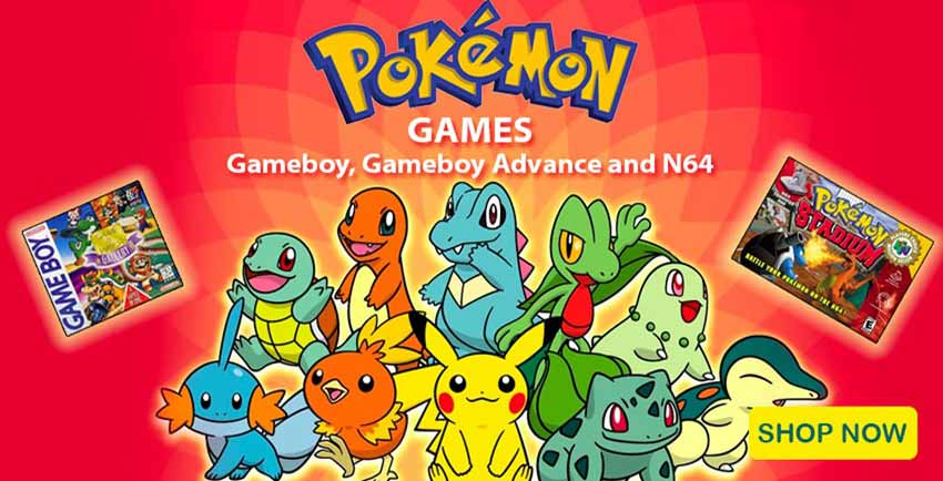 Tons of Pokemon Nintendo games for sale!