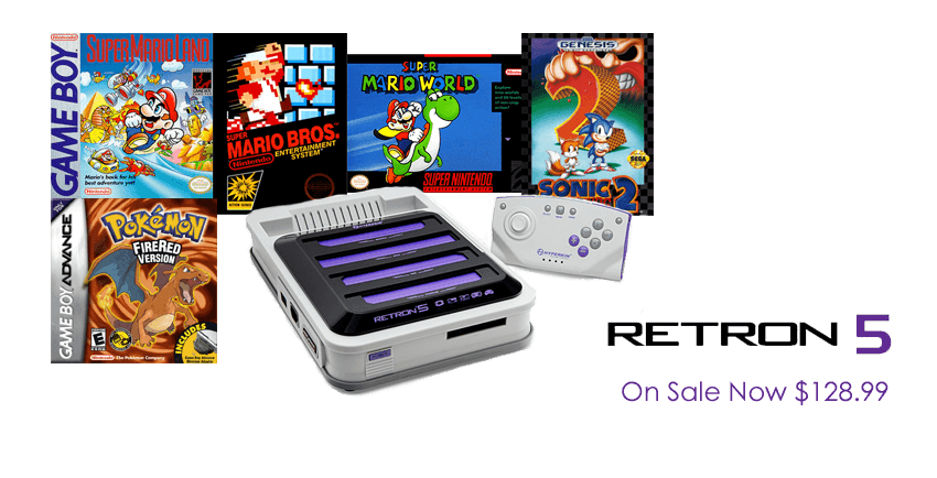 Retron 5 On Sale Today!