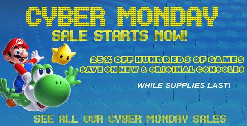 Cyber Monday Nintendo Sale Starts Now