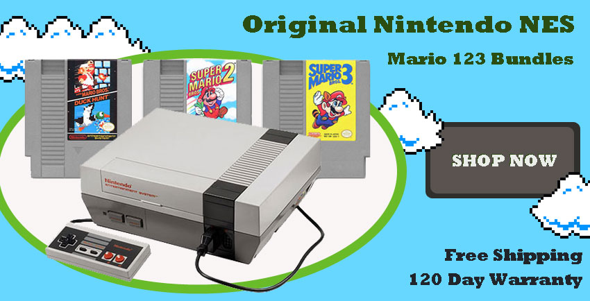 Nintendo Original Systems Mario Game Bundles For Sale