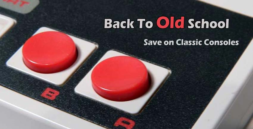 """Save on Classic Console for Back to """"Old"""" School."""
