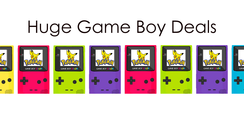 Huge Game Boy Deal!