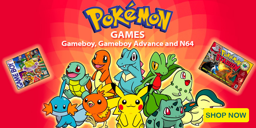 Pokemon Retro Video Games On Sale!