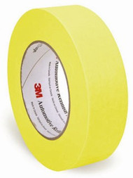 "RL 1 1/2"" YELLOW REFINISH MASKING TAPE (24/CS)"