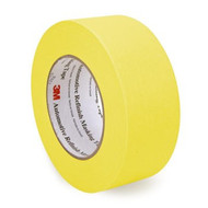 "RL 2"" YELLOW REFINISH MASKING TAPE (24/CS)"