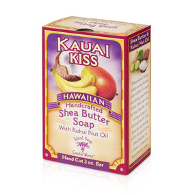 Kauai Kiss Shea Butter soap