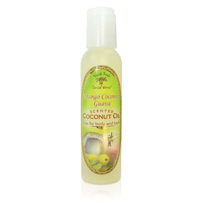 Mango Coconut Guava - Aromatic CocoMac Oil 4.5 oz. Bottle