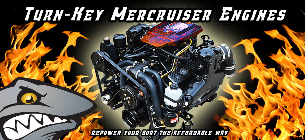 Turn-Key Mercruiser Engines