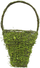 "18"" Moss Wall Pocket Basket"