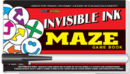 """Invisible Ink: Yes & Know® Game Book """"Maze"""""""