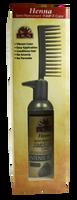 Henna Semi-Permanent Pump-It Color Comb - Intense Black 2.5oz / 73ml