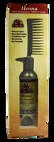 Henna Semi-Permanent Pump-It Color Comb - Jet Black 2.5oz / 73ml